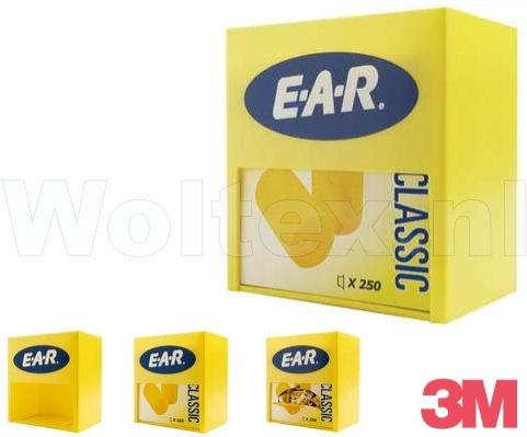 3M E-A-R Dispenserhouder oordoppen Classic dispenser geel