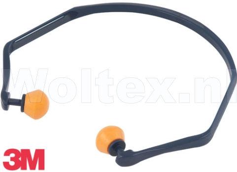 3M Gehoorbeugels 1310 Met gemonteerde oordoppen grijs-oranje