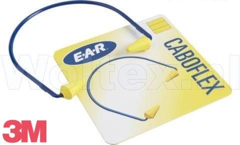 3M E-A-R Gehoorbeugels Caboflex Met gemonteerde oordoppen blauw-geel