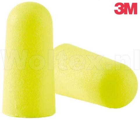 3M E-A-R Oordoppen Soft Yellow Neons Polyurethaanschuim Dispenser- 250 paar fluo-geel