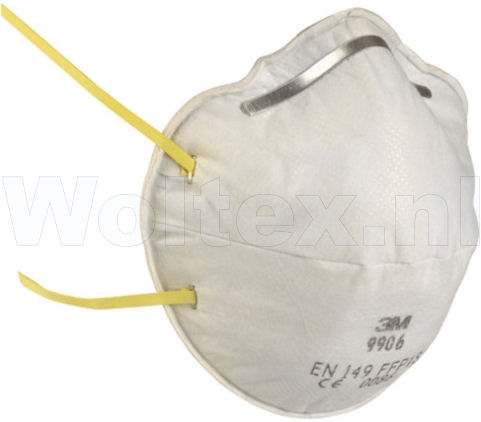 3M specifiek Stofmaskers 9906 FFP1