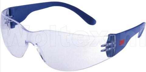 3M Veiligheidsbrillen 2720 Polycarbonaat Anti kras- anti damp helder