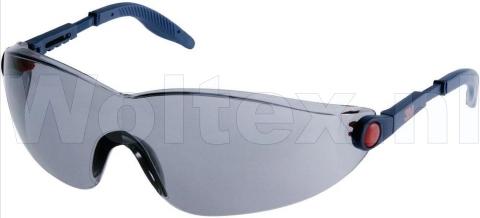 3M Veiligheidsbrillen 2741 Polycarbonaat Anti kras- anti damp grijs