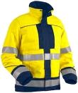 Blaklader Werkjacks 40761509 High Vis Vlamvertragend geel-marineblauw(3389)