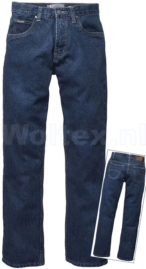 Brams Paris Broeken Palmer A50 blue denim