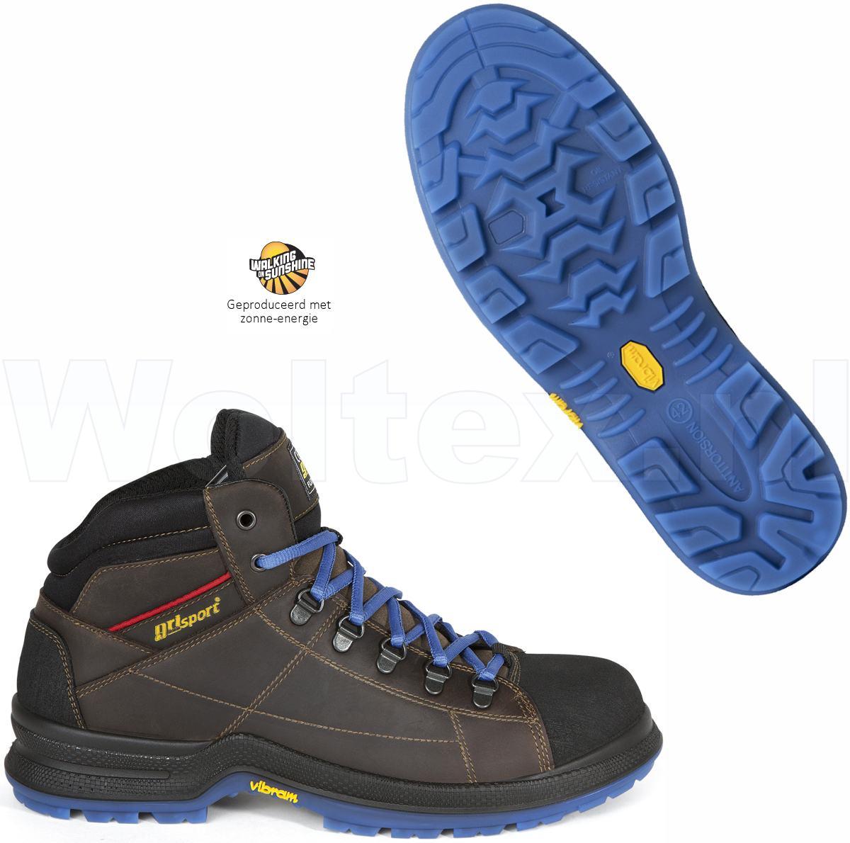 Werkschoenen Hoog.Grisport Bionik S3 Werkschoenen Hoog Model Cyborg Beschermende Neus