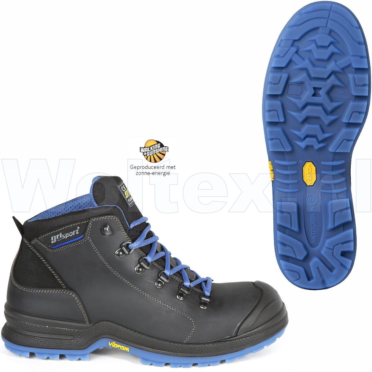 Werkschoenen Hoog.Grisport Bionik S3 Werkschoenen Hoog Model Data Beschermende Neus
