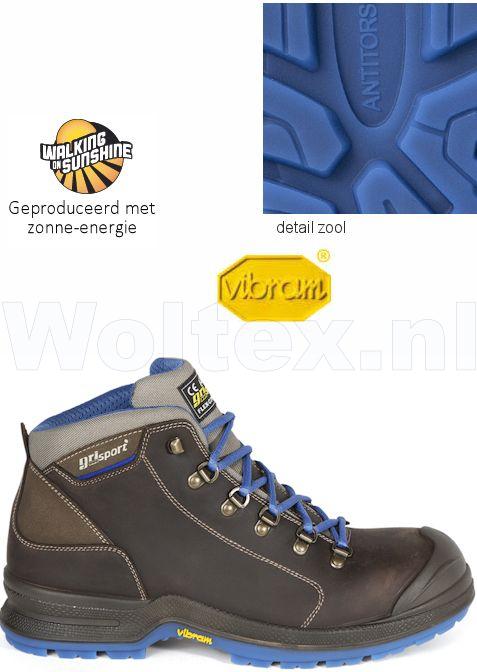 Werkschoenen Hoog.Grisport Bionik S3 Werkschoenen Hoog Model Android Beschermende