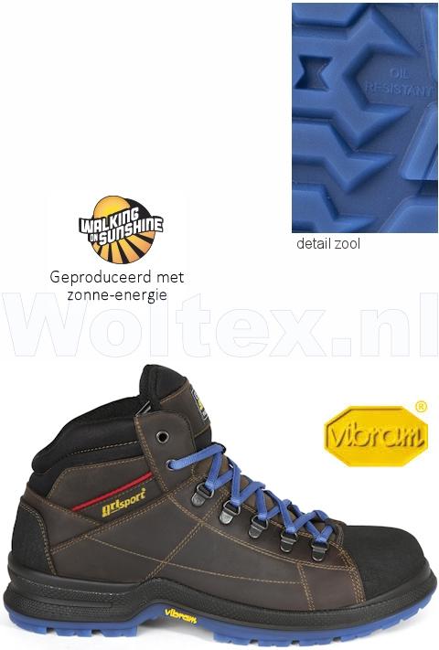 Grisport Werkschoenen.Grisport Bionik S3 Werkschoenen Hoog Model Cyborg Beschermende Neus
