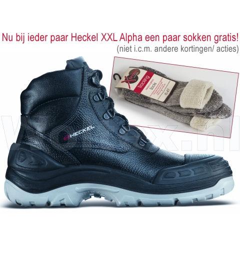 Heckel Veiligheidsschoenen XXL Alpha