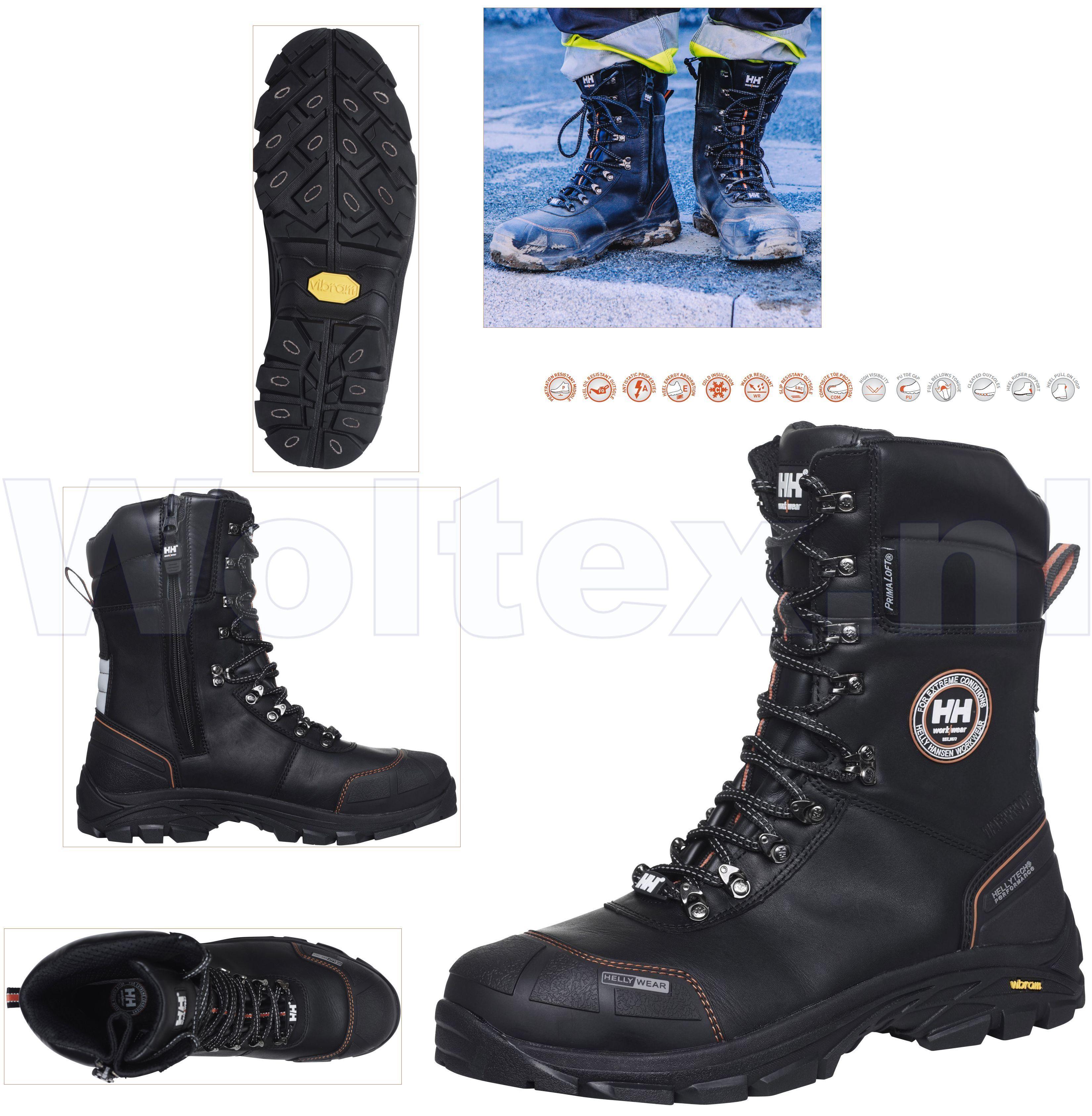 Werkschoenen Hoog.Helly Hansen Winter S3 Werkschoenen Hoog 78301 Chelsea Beschermende