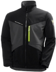 Helly Hansen Softshell jacks Aker 74051 zwart-antracietgrijs(999)