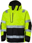 Helly Hansen Winterjacks Alna 71394 High Vis fluo geel-ebbenhout(369)