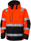 Helly Hansen Winterjacks Alna 71394 High Vis fluo rood-ebbenhout(169)