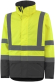 Helly Hansen Winterjacks Alta 70335 High Vis fluo geel-antracietgrijs(369)