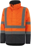 Helly Hansen Winterjacks Alta 70335 High Vis fluo oranje-antracietgrijs(269)