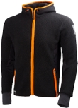 Helly Hansen hooded Fleece vesten Mjolnir 72269 zwart(990)