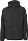 Helly Hansen Bluesign Werkjacks- ritssluiting Waterloo 70127 Helly Tech- ademend- waterafstotend zwart(990)