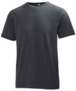 Helly Hansen T-shirts Manchester donkergrijs(970)