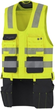 Helly Hansen Werkvesten York 76175 High Vis fluo geel-antracietgrijs(369)