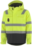 Helly Hansen Winterjacks Aberdeen 71385 Multinorm fluo geel-antracietgrijs(369)