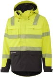 Helly Hansen Winterjacks York 71367 High Vis fluo geel-antracietgrijs(369)