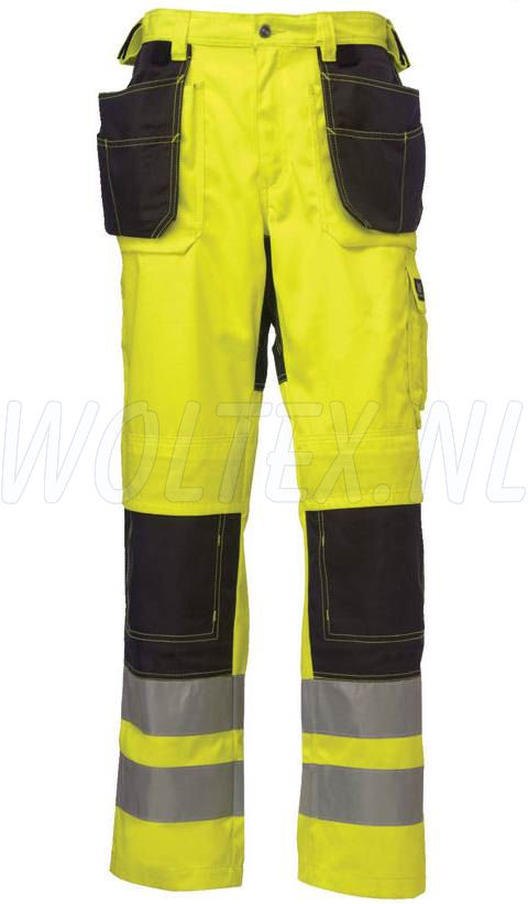 Helly Hansen Bridgewater Womens Pants fluo geel-antracietgrijs