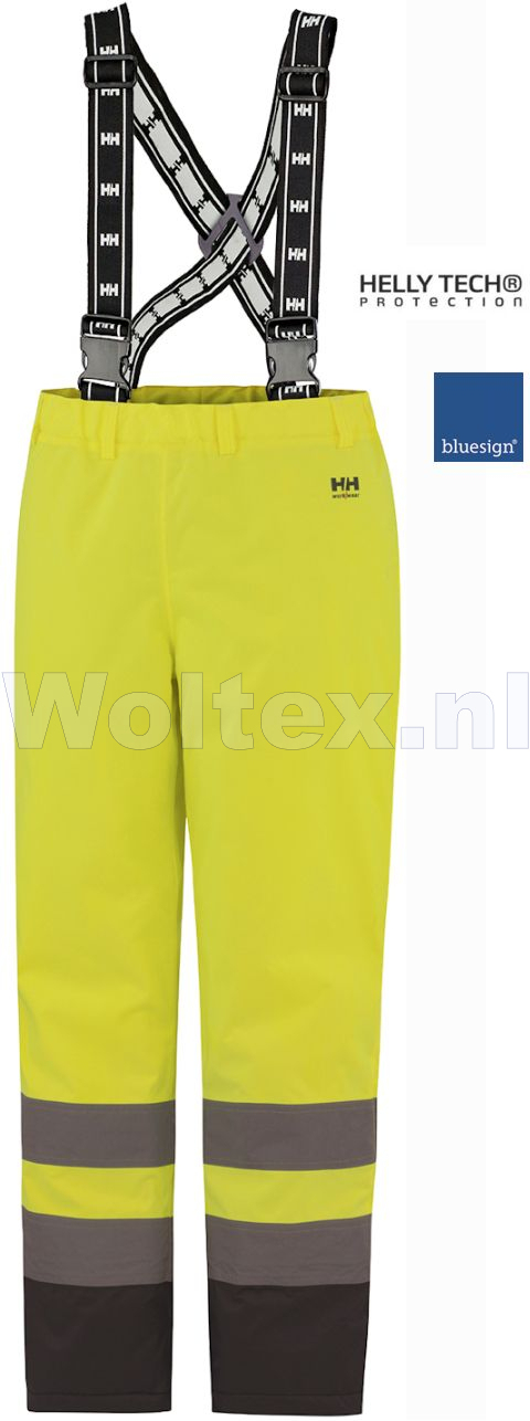 Helly Hansen Winterbroeken Alta 70445 High Vis fluo geel-antracietgrijs(369)