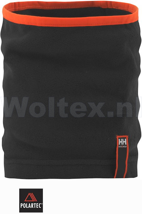 Helly Hansen Winter Kraag- long neck Minto Gaiter 79876 dubbel- laags Polar- fleece zwart(990)