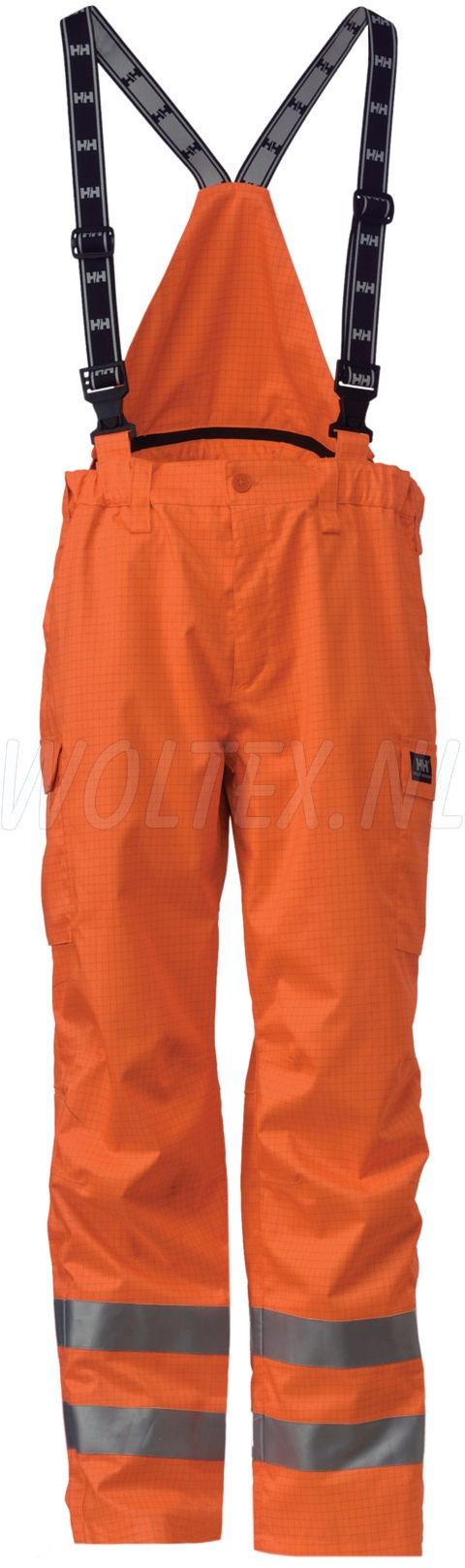 Helly Hansen Regenbroeken Rothenburg Vlamvertragend High Vis fluo-oranje(260)