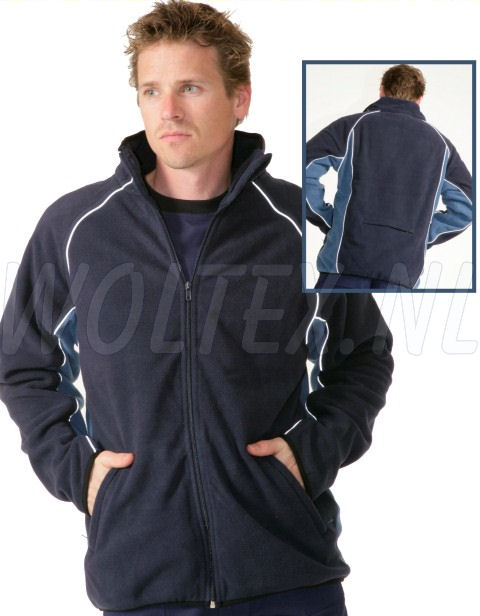 JMP Wear Fleece Jacks Colombia blauw