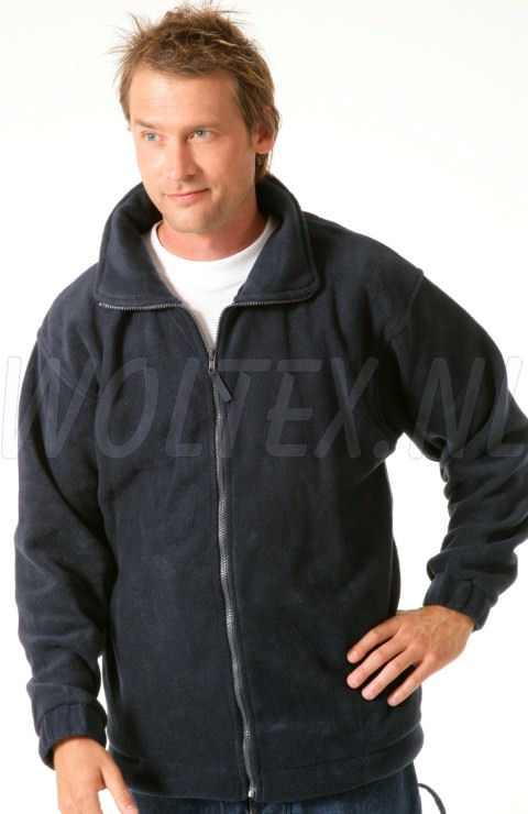 Economy Wear Fleecevesten Peru Ritssluiting Polyester- fleece donkerblauw
