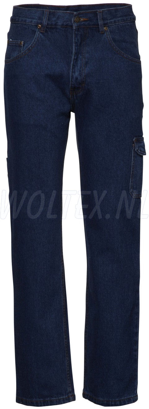 Economy Wear Broeken Denver Denim- katoen- Cordura denim blue
