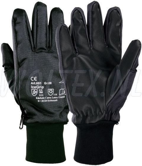 KCL Handschoenen KCL Ice-grip zwart