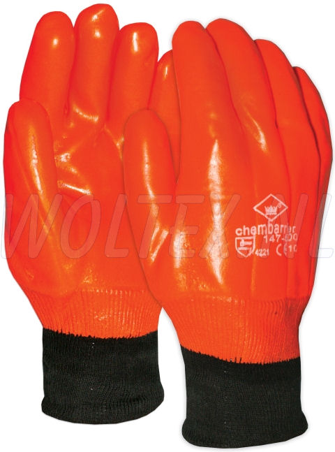 M-Safe Handschoenen 14750000 Chambarrier fluo-oranje