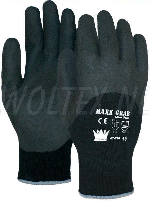 M-Safe Werkhandschoenen 14728000 Maxx-grap foam zwart