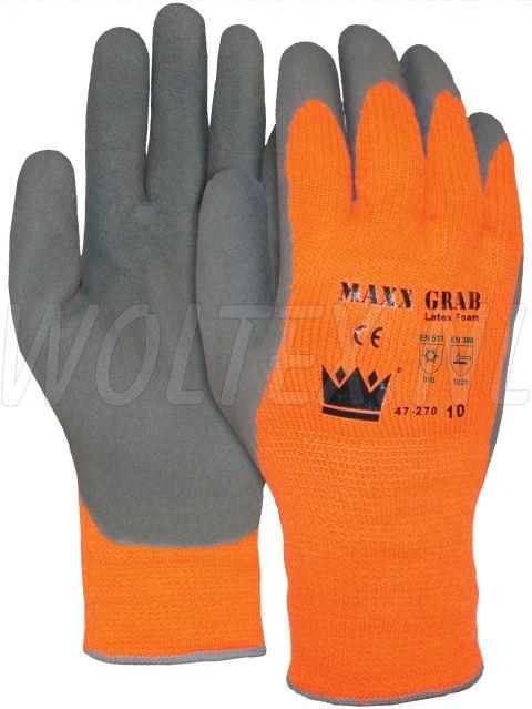 M-Safe Handschoenen 14727000 Maxx-grap grijs-oranje