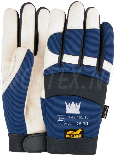 M-Safe Handschoenen 14716500 Bald Eagle Winter blauw-zwart-wit