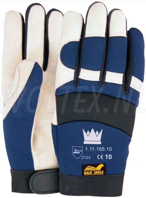 M-Safe Werkhandschoenen 11116500 Bald Eagle blauw-zwart-wit