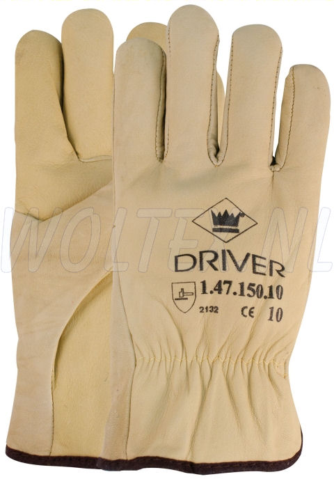 M-Safe Werkhandschoenen 14715000 beige-wit