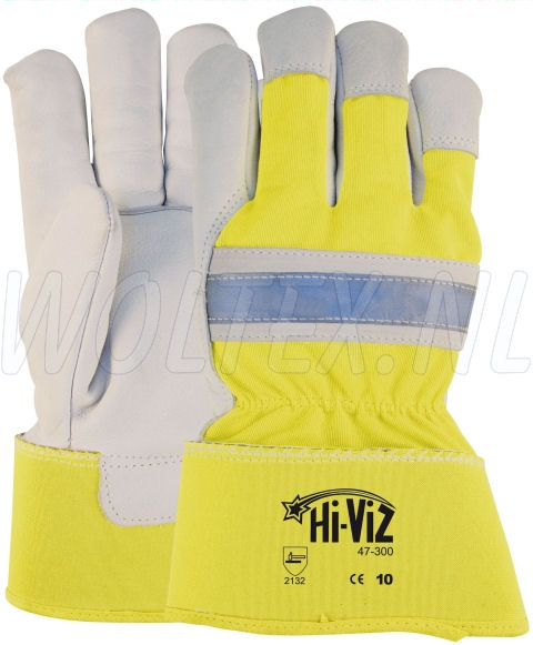 M-Safe Werkhandschoenen 14730000 Hi-Viz High Vis fluo-geel