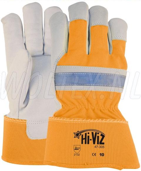 M-Safe Werkhandschoenen 14730500 Hi-Viz High Vis fluo-oranje