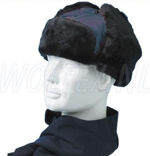 MLG Wintermutsen Siberia donkerblauw