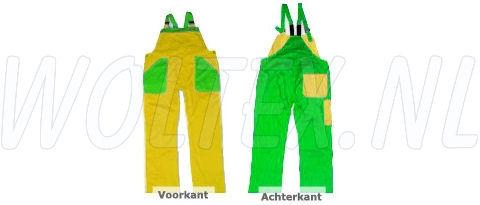 Noname Am. Overalls TB26535 geel-groen(GEELGR)