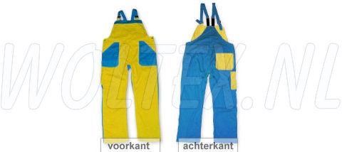 Noname Am. Overalls TB26535 geel-korenblauw