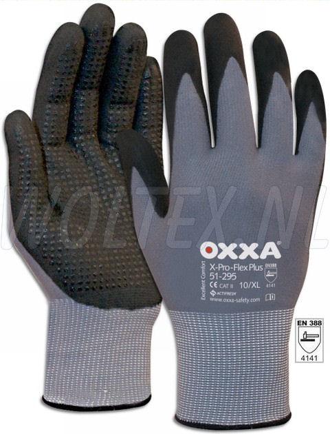 OXXA Handschoenen X-Pro-flex-plus zwart-grijs