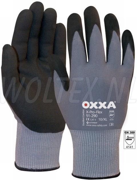 OXXA Werkhandschoenen X-Pro-Flex zwart-grijs