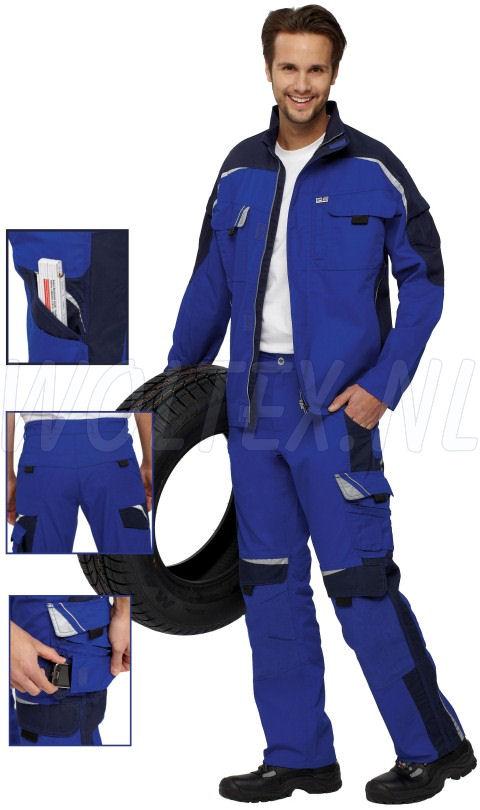 PKA Werkbroeken Bestwork New blauw