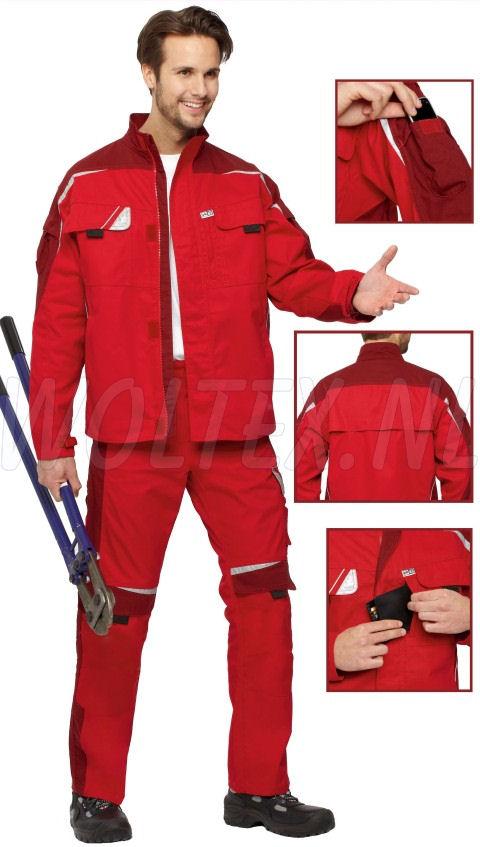 PKA Jasjes Bestwork New rood