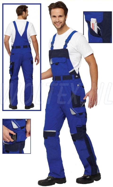PKA Am. overalls Bestwork New blauw